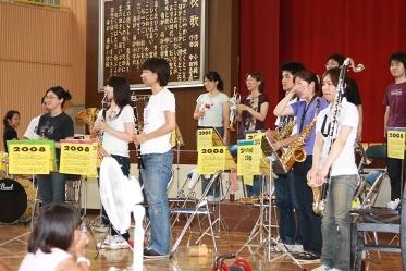 EMだけではなく、東京学芸大学ウインドアンサンブルの方にも声を掛けました